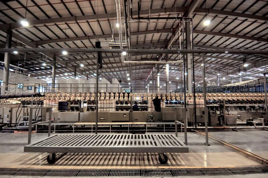 Tufted Carpet Manufacturing Plant for ADNIP at Mussafah Industrial City