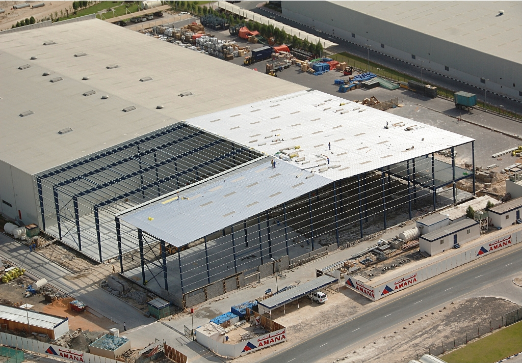 Logistic Center & Offices for Transworld at Jebel Ali Free Zone