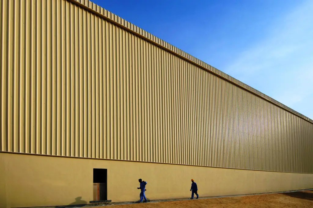Warehouse Extension for LOGIX at Jebel Ali Free Zone