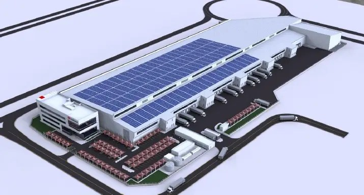 Amana to Construct 2.3MWp Rooftop Solar PV Power Plant on DB Schenker's Dubai South Warehouse