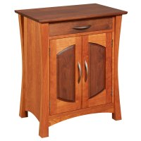 Amana Coopers Nightstand with Drawers - Amana Furniture ...