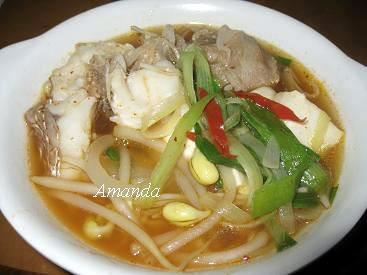 泡菜,辣魚湯,韓國菜,食譜,魚湯 @Amanda生活美食料理