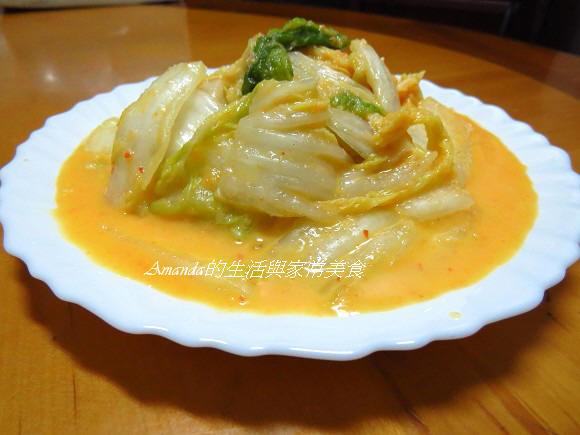 Amanda食譜,大白菜,泡菜,醃漬,黃金泡菜 @Amanda生活美食料理
