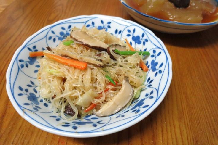 炒米粉,素食,芹菜,香菇 @Amanda生活美食料理