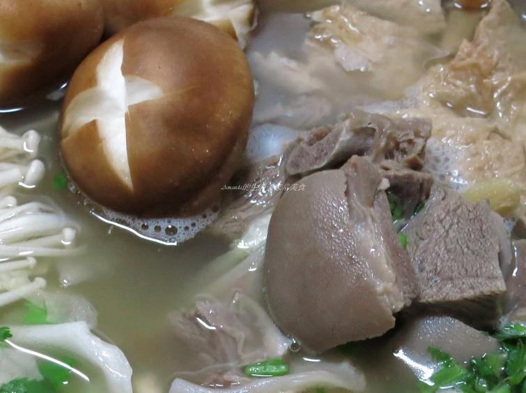 清燉羊肉爐 -清爽沒羊騷味-自製凍豆腐