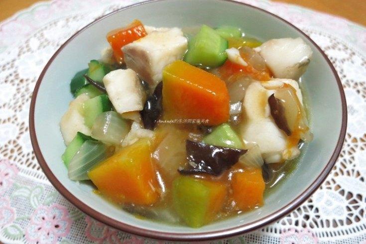 料理教學,烹飪教學,白果,雞湯,魚湯 @Amanda生活美食料理