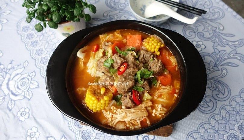 牛肉蔬菜香辣鍋-禦寒補血健康鍋