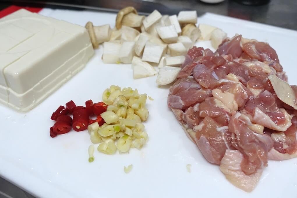 燴飯,蠔油,豆腐,雞肉