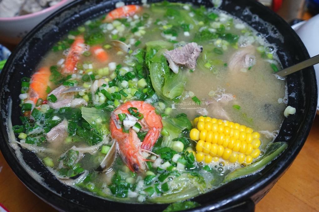 味噌鍋,海鮮鍋,湯鍋,鮮蝦,鱸魚