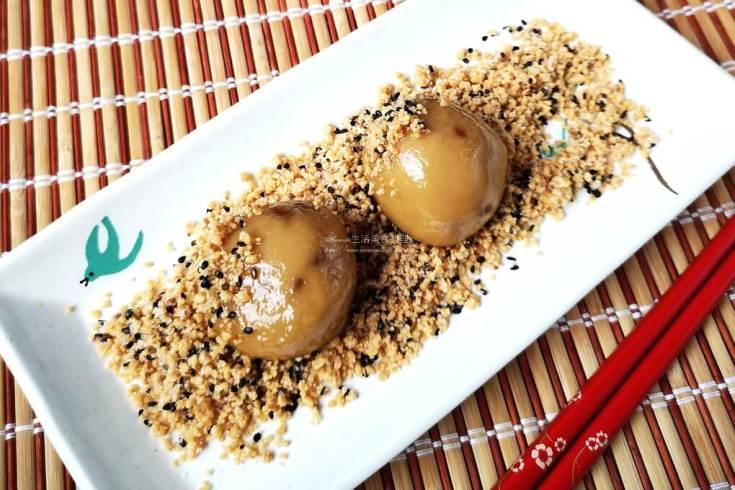桂圓湯,燒麻糬,麻糬,黑糖麻糬 @Amanda生活美食料理