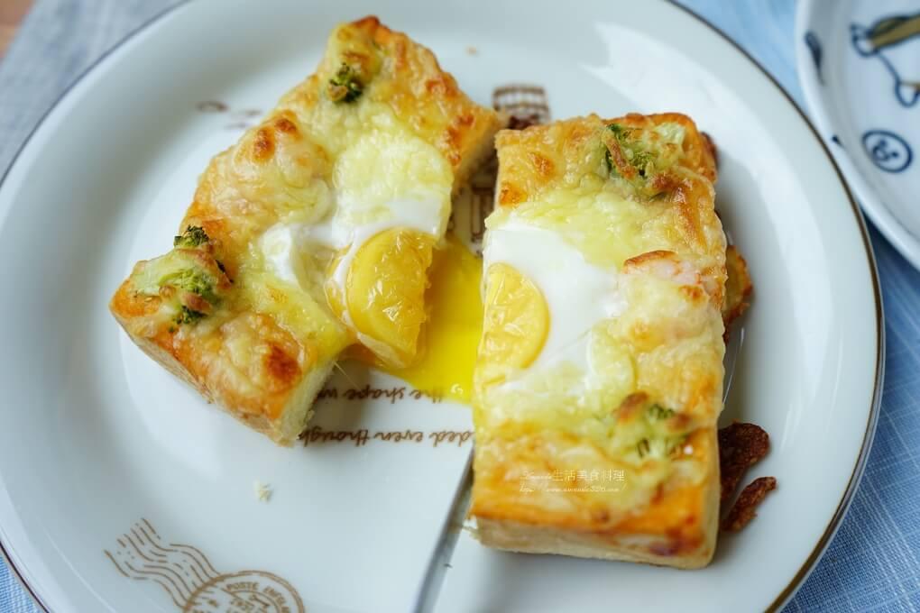 半熟蛋,太陽蛋,海鮮,烤箱,焗烤,焗烤厚片