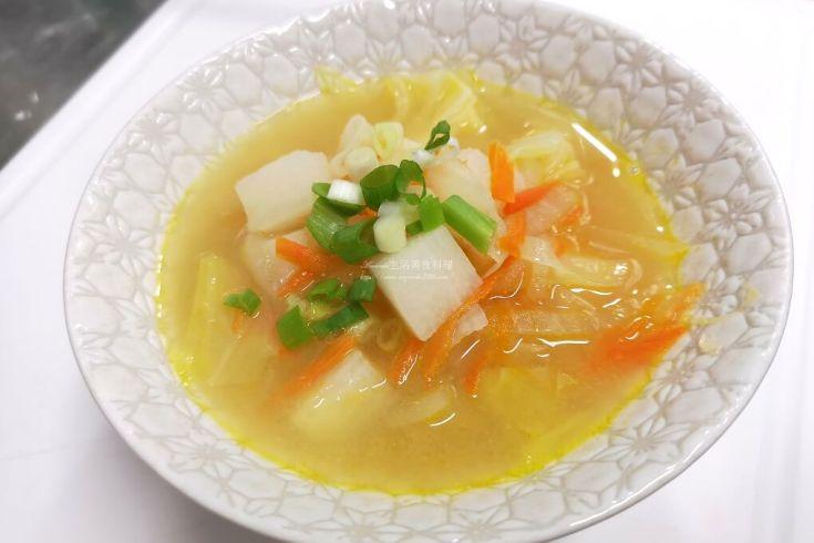 味噌湯,蔬菜湯,蔬食 @Amanda生活美食料理