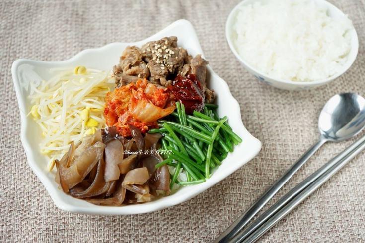 拌飯,牛肉,米可,米可下廚,韓式泡菜 @Amanda生活美食料理