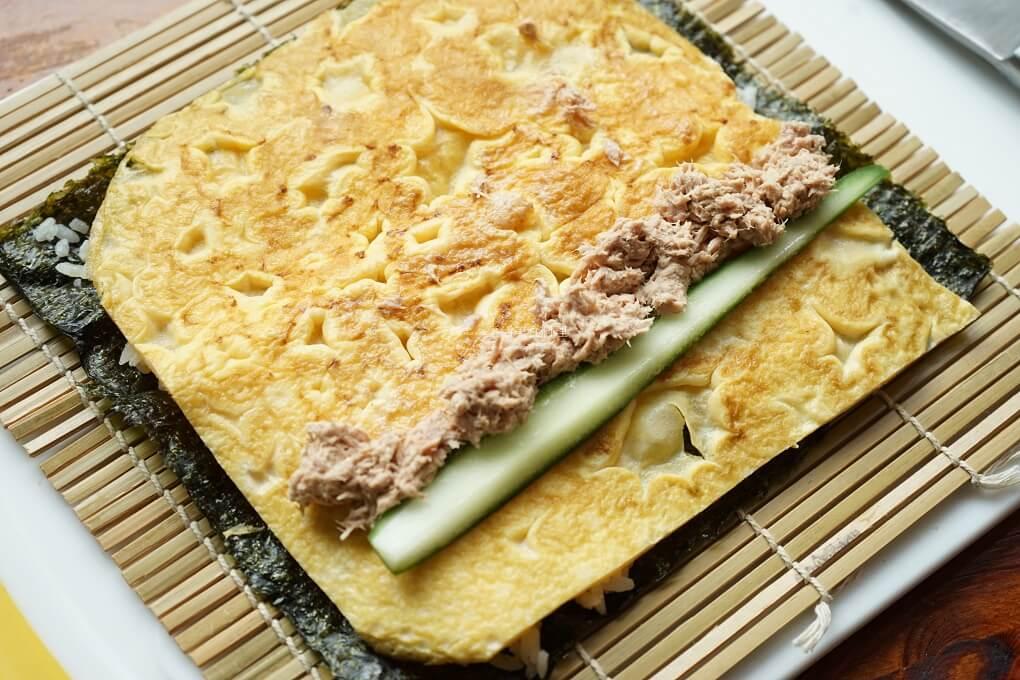 壽司,米可下廚,蛋皮,醋飯