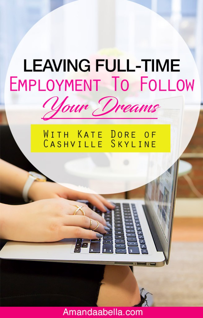 [MMYH Ep. 30] Leaving Full-Time Employment To Follow Your Dreams With Kate Dore of Cashville Skyline