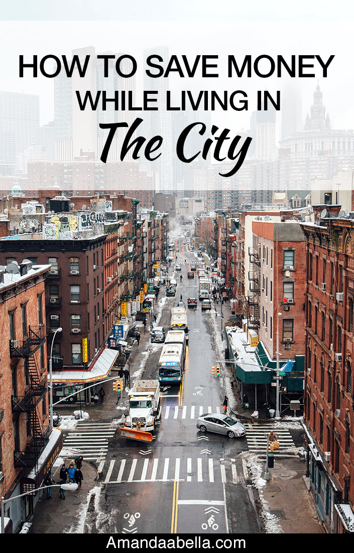 living in the city