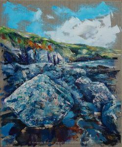 Prussia Cove Cliffs