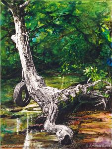 Idyll (with tyre swing) -SOLD