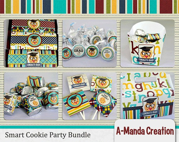 Smart Cookie Graduation Party Printables