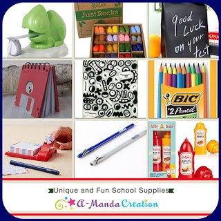 Unique and Fun School Supplies