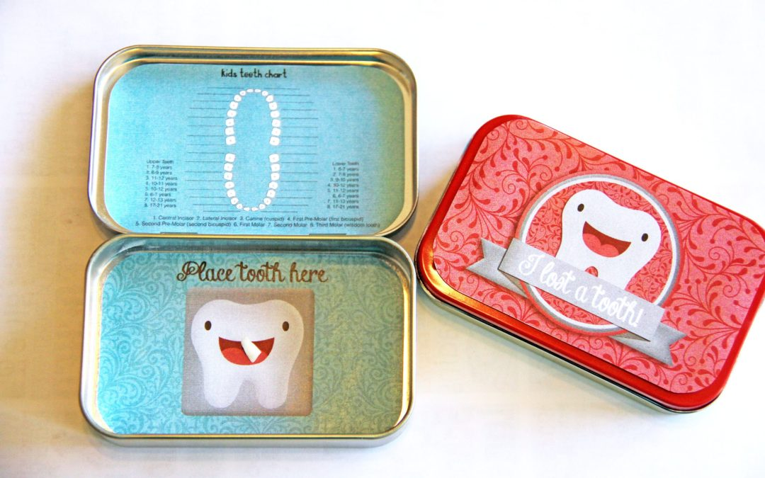 Tooth Fairy Tooth Holder Ideas