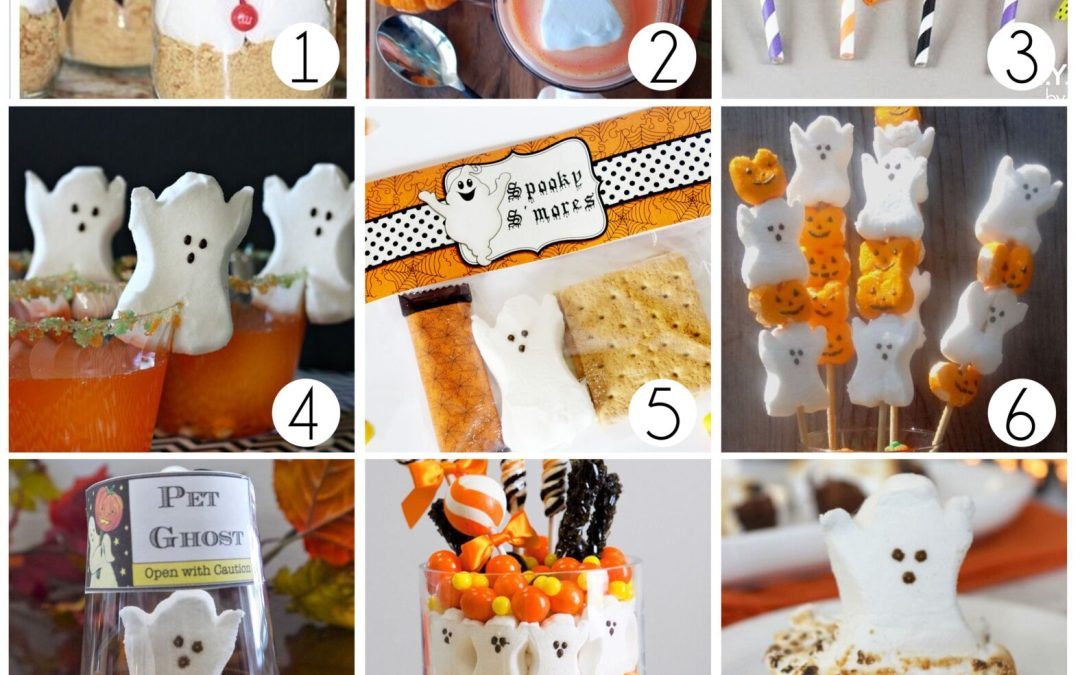 Fun ideas for Ghost Peeps