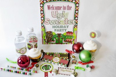 Ugly Sweater Party Printables