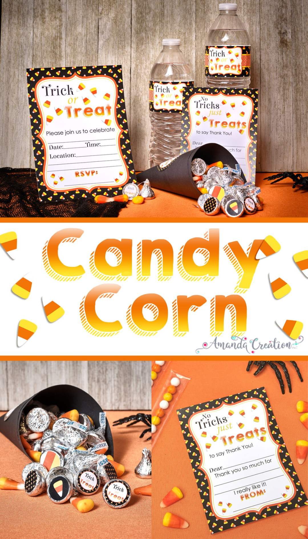 candy corn party supplies