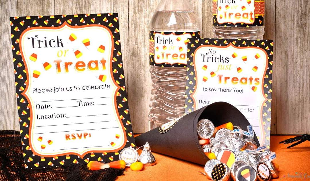 Trick or Treat…a Candy Corn Party is Oh So Neat!