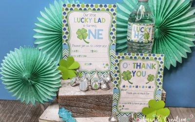 A St. Patrick's 1st Birthday Party for Your Lucky Lad