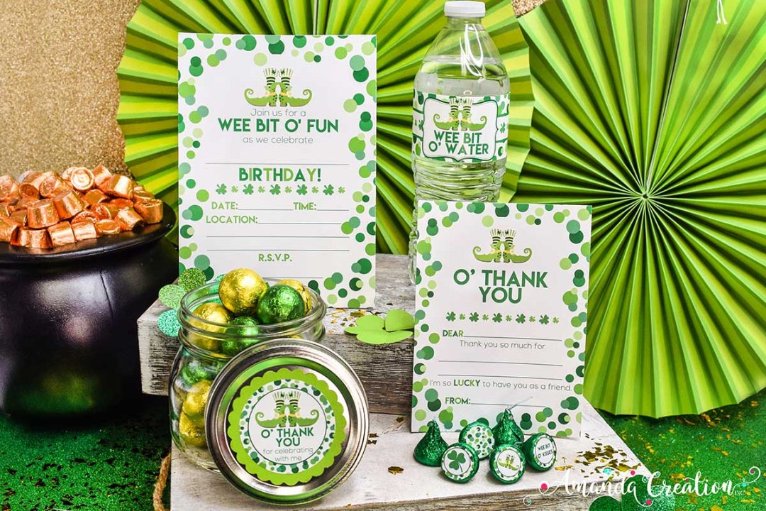 St. Patrick's Day Birthday Party Supplies