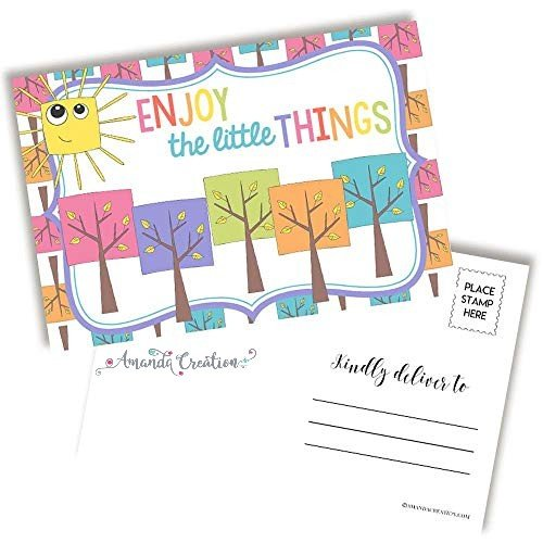 Enjoy the Little Things Postcards