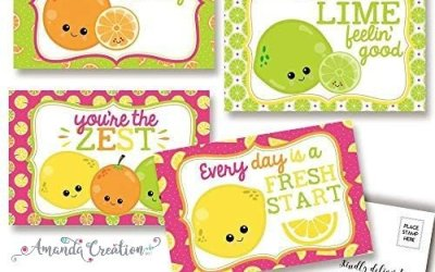 Keep in Touch This Summer With Fun Fruity Postcards