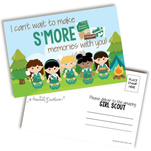 Girl Scout Postcards