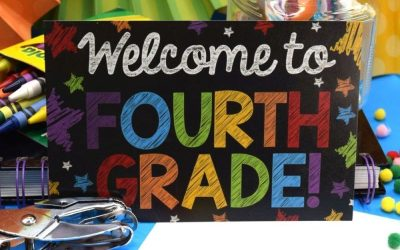 Back to School Postcards for Multiple Grades