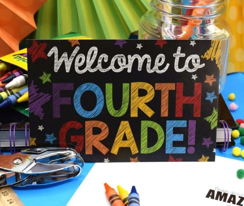 Back to School Postcards for Multiple Grades