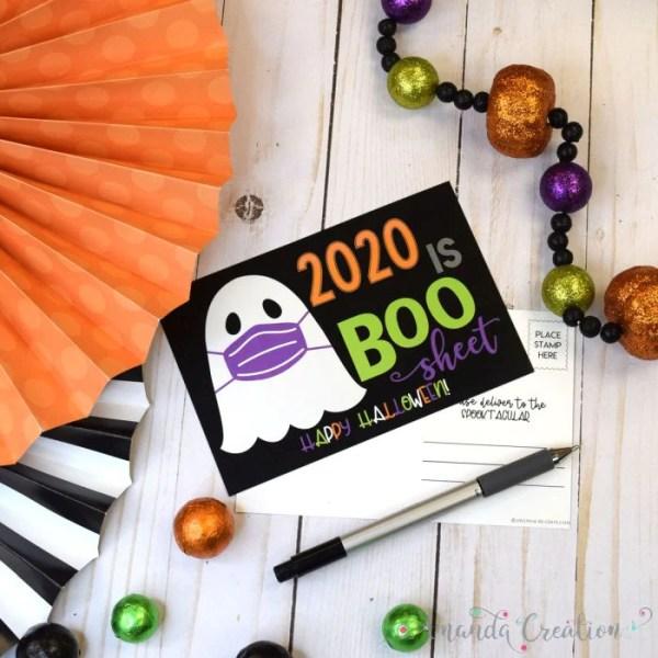 Funny Halloween Postcards