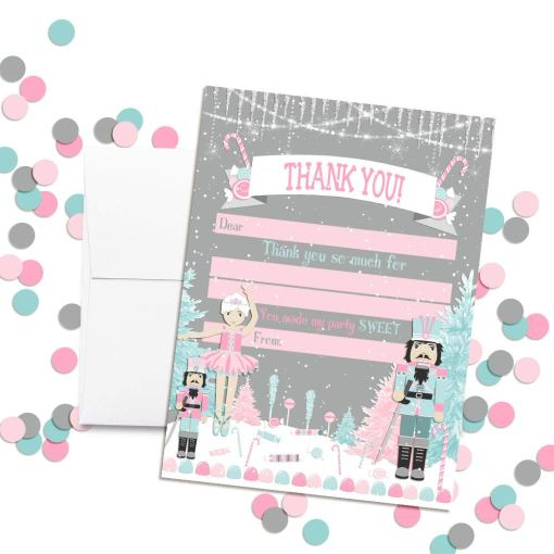 nutcracker land of sweets thank you notes