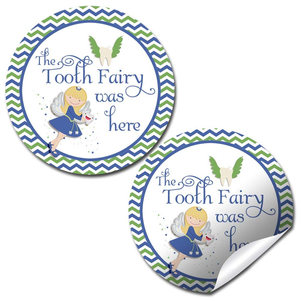 Boys Tooth Fairy Stickers
