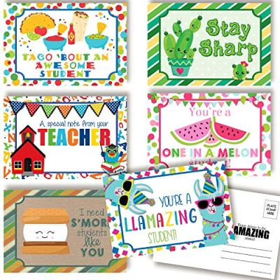 teacher to student postcards