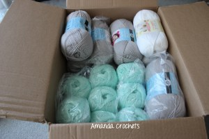 Bernat softee baby yarn haul