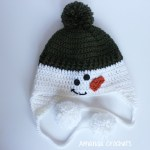 snowmen and penguin hats