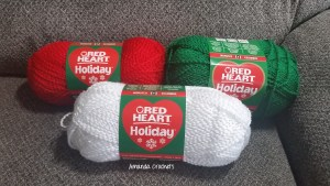 Red Heart Holiday Yarn Review
