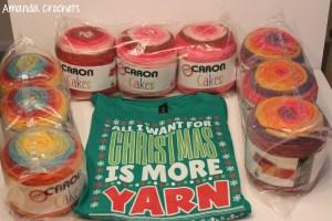 Birthday and Christmas Yarn Haul