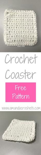 single crochet coaster pattern