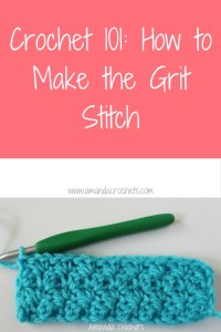 How to Make the Grit Stitch