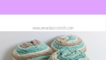 Caron Cotton Cake Market Tote Bag - Amanda Crochets
