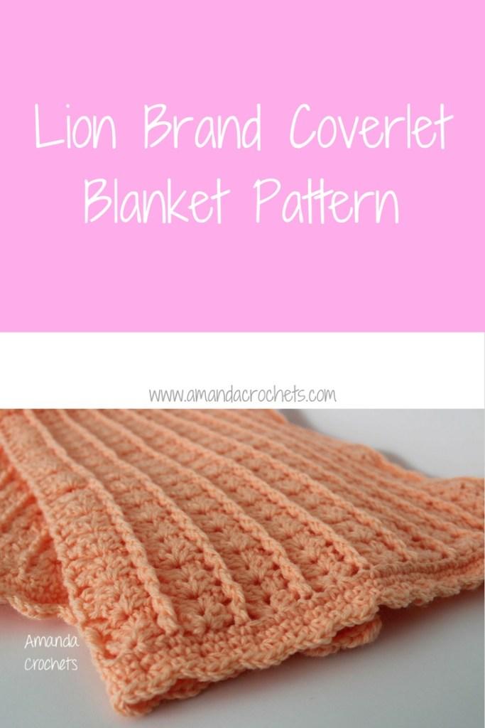 coverlet blanket pattern