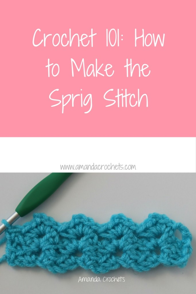 how to make the sprig stitch