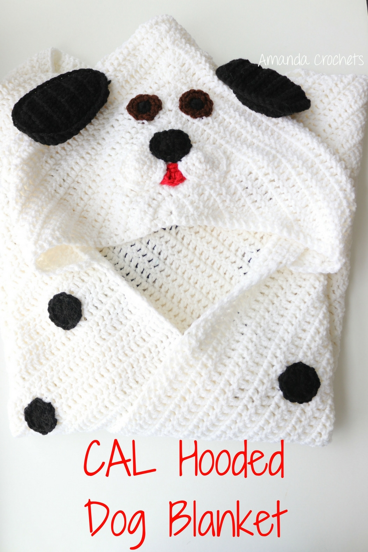 hooded blanket CAL part 3